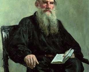 Portrait of Leo Tolstoy — Илья Репин