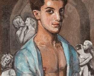 """Portrait of Leonide Massine in """"The Legend of Joseph"""" — Сергей Судейкин"""