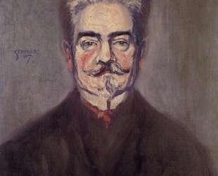 Portrait of Leopold Czihaczek — Эгон Шиле