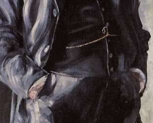 Portrait of Leopold Czihaczek, Standing — Эгон Шиле