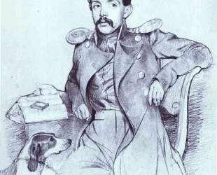 Portrait of Lieutenant Lvov — Павел Федотов