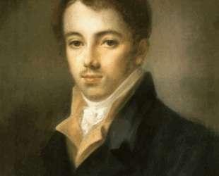 Portrait of M. A. Fonvizin — Алексей Венецианов