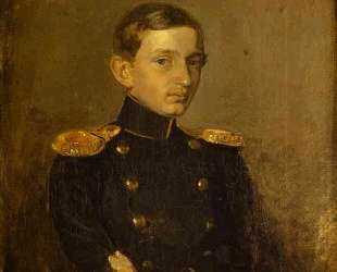 Portrait of M. P. Zhdanovich — Павел Федотов
