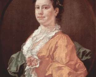 Portrait of Madam Salter — Уильям Хогарт
