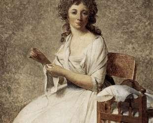 Портрет мадам Аделаиды Пасторе — Жак Луи Давид