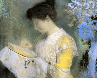 Portrait of Madame Arthur Fontaine — Одилон Редон