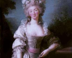 Portrait of Madame du Barry — Элизабет Луиза Виже-Лебрен
