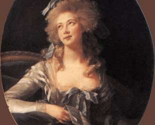 Portrait of Madame Grand — Элизабет Луиза Виже-Лебрен