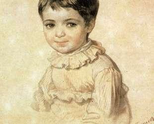 Портрет М. П.Кикиной в детстве — Карл Брюллов