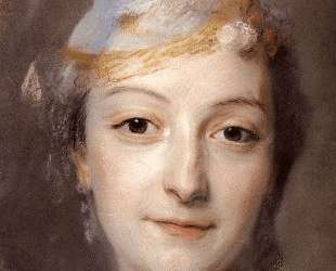 Portrait of Marie Fel — Морис Кантен де Латур
