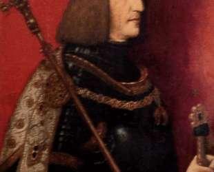 Portrait of Maximilian I (1459-1519) — Бернхард Штригель