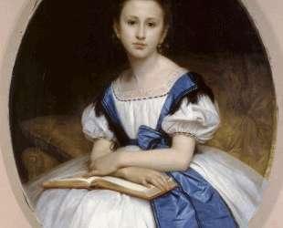 Portrait of Mlle Brissac — Вильям Адольф Бугро