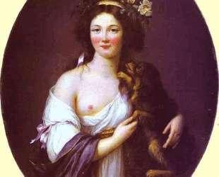 Portrait of Mme D'Aguesseau — Элизабет Луиза Виже-Лебрен