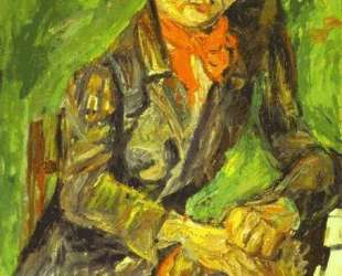 Portrait of Moise Kisling — Хаим Сутин