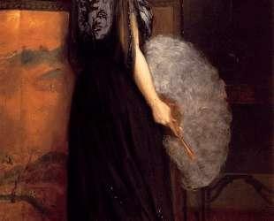 Portrait of Mrs Francis Stanton Blake — Юлиус Леблан Стюарт