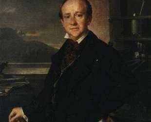 Portrait of N. A. Selivanovsky — Василий Тропинин