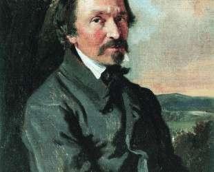 Портрет Н. А.Некрасова — Константин Маковский