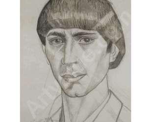Portrait of Osip Zadkine — Маревна
