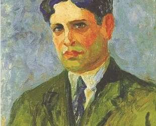 Portrait of Oswald de Andrade — Тарсила ду Амарал