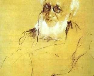 Портрет П. Семенова-Тянь-Шанского — Валентин Серов