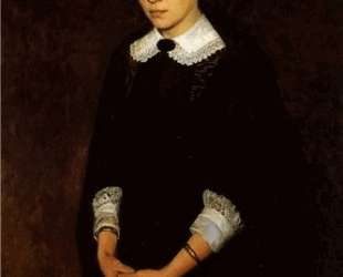Portrait of P. Strepetova — Николай Ярошенко