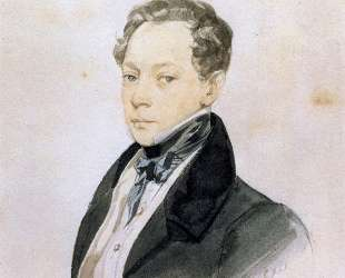 Портрет художника П. В.Басина — Карл Брюллов