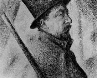 Портрет Поля Синьяка — Жорж Сёра
