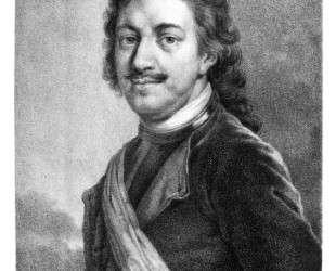 Portrait of Peter I — Алексей Венецианов