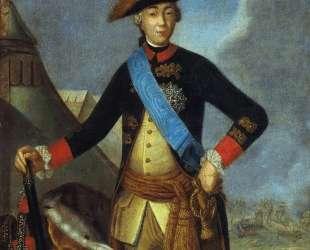 Portrait of Peter III of Russia — Фёдор Рокотов