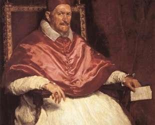 Portrait of Pope Innocent X — Диего Веласкес