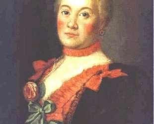 Portrait of Princess T. A.Trubetzkaya — Алексей Антропов
