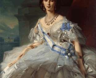 Portrait of Princess Tatiana Alexanrovna Yusupova — Франц Ксавер Винтерхальтер