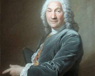 Portrait of Rene Fremin, Sculptor — Морис Кантен де Латур