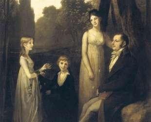Portrait of Rutger Jan Schimmelpenninck and his family — Пьер Поль Прюдон