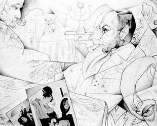 Portrait of S. V Balabanov — Юрий Анненков
