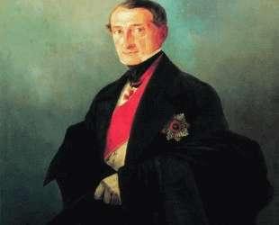 Портрет сенатора Александра Ивановича Казначеева — Иван Айвазовский