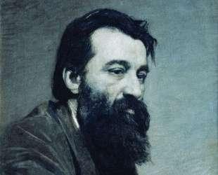 Portrait of Sergey Nikolaevich Amosov — Николай Ярошенко