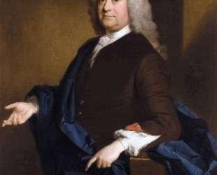 Portrait of Sir John Hynde Cotton, 3rd BT — Аллан Рэмзи