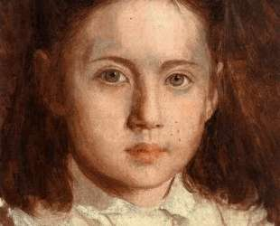 Portrait of Sonya Kramskaya, the Artist`s Daughter — Иван Крамской