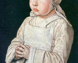 Portrait of Suzanne of Bourbon — Жан Эй (Муленский мастер)