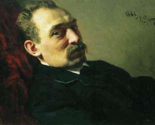 Портрет архитектора Филиппа Дмитриевича Хлобощина — Илья Репин