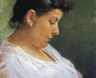Portrait of the Artist's Mother — Пабло Пикассо