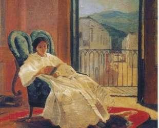 Портрет жены художника Анны Петровны — Николай Ге