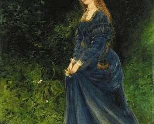 Portrait of the artist's wife, Theodosia, as Ophelia — Джон Эткинсон Гримшоу