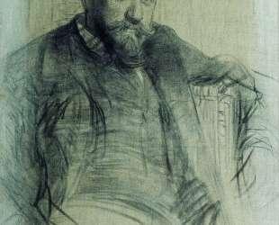 Портрет художника В. А.Серова — Илья Репин