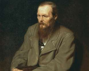 Портрет писателя Федора Михайловича Достоевского — Василий Перов