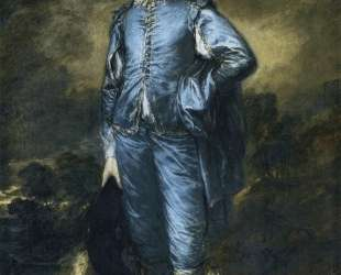 The Blue Boy (Portrait of the Jonathan Buttall) — Томас Гейнсборо