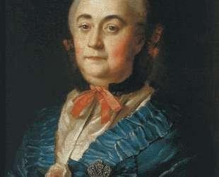Portrait of the Lady in Waiting A. M.Izmaylova — Алексей Антропов