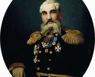 Портрет военного — Илья Репин