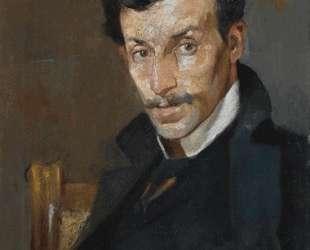 Portrait of the Painter Gerassimos Dialismas — Николаос Литрас